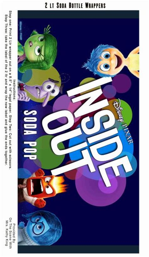 inside out printable party decorations free inside out printable party decoration pack