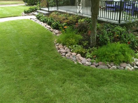 flower bed edging ideas pictures small and green flower