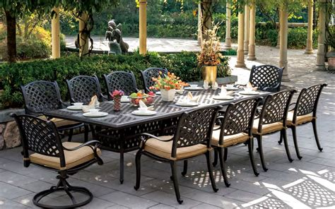 patio furniture cast aluminum chicpeastudio