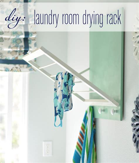Ballard Designs Drying Rack diy laundry room drying rack centsational girl