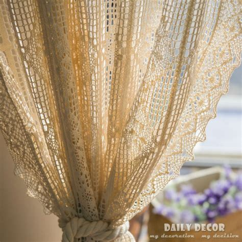 Online Buy Wholesale crochet curtains from China crochet