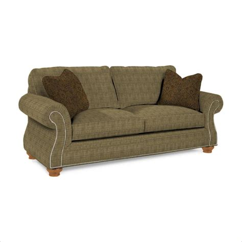 Broyhill Sleeper Sofa Laramie Olive Goodnight Sleeper Sofa With Attic Heirlooms Wood Stain 5081 7q1