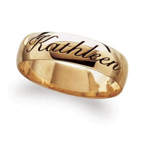 wedding bands with names 31 most amazing wedding rings with names engraved