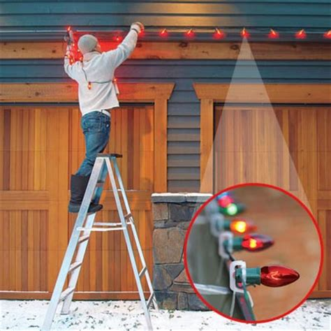 easy way to hang christmas lights on a christmas tree be bright when hanging lights 24 easy upgrades to create a festive home this house