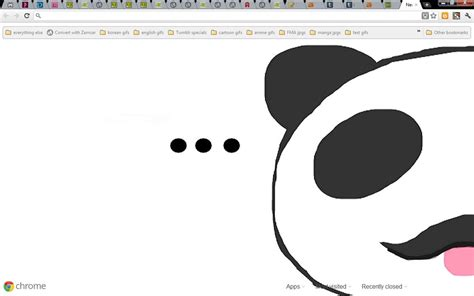 theme chrome panda junjou panda chrome theme by tsukiscribbles on deviantart