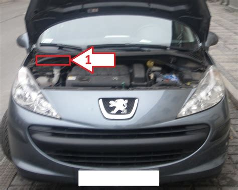 peugeot number where is vin number on peugeot 207