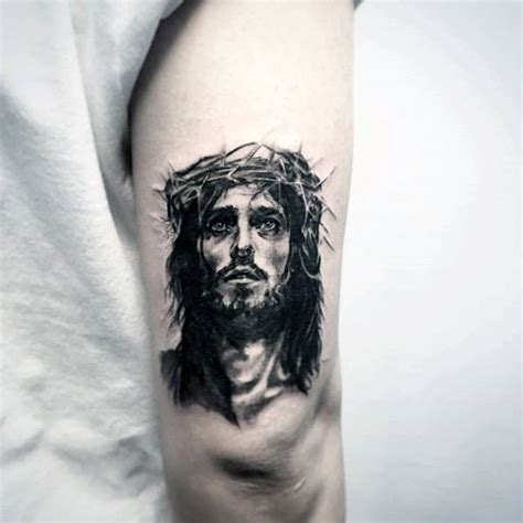 small jesus tattoos 100 jesus tattoos for cool savior ink design ideas