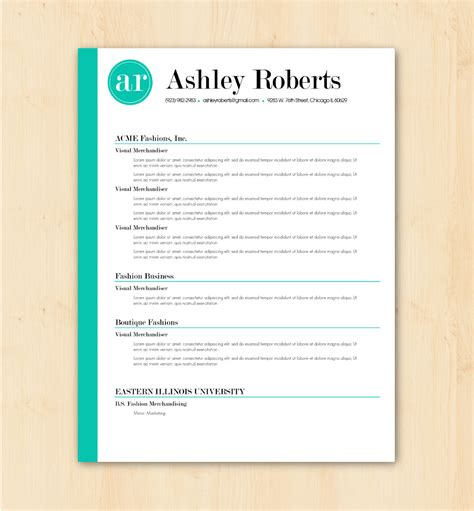 Word Resume Template by Awesome Resume Templates Word Templates Resume