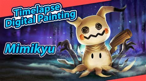 mimikyu by tsaoshin get more mimikyu time lapse digital painting