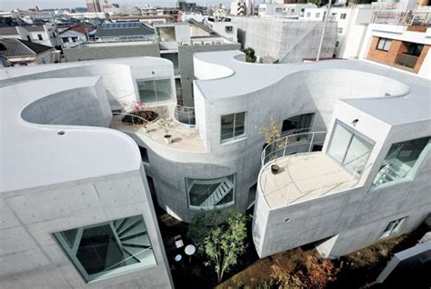 U Shaped House Plans With Courtyard new approaches to apartment living in japan ja u