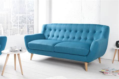 canapé bleu turquoise canap 233 capitonn 233 3 places turquoise braga