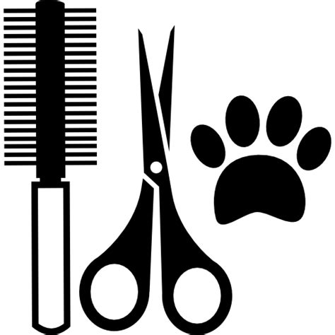Hair Style Tools Pictures by Pets Hair Salon Tools Kit Free Animals Icons