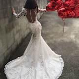 Long Sleeve Lace Wedding Dress Open Back | 800 x 800 jpeg 120kB