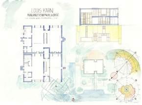 esherick house floor plan margaret esherick house plan i maestri louis kahn