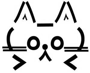 gallery for gt ascii art cat face