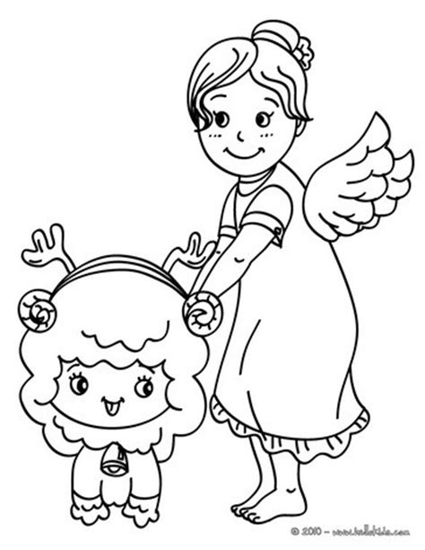 little angels coloring pages little angel coloring pages hellokids com