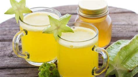 minuman sehat penurun tekanan darah jus belimbing enak
