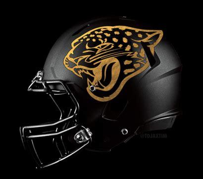 Kaos Olahraga Football Jacksonville Jaguars Alternate Logo 7 1999 2008 pics jaguars new gradient helmet debuts chris creamer s sportslogos net news and new