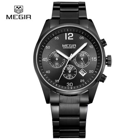 megir s watches luminous waterproof calendar sports