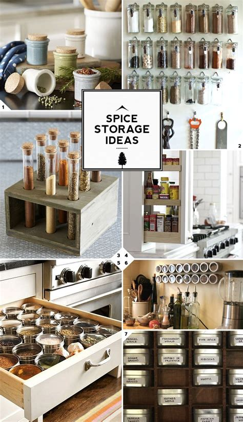 Kitchen Spice Rack Ideas by Best 25 Kitchen Spice Storage Ideas On Pinterest Spice