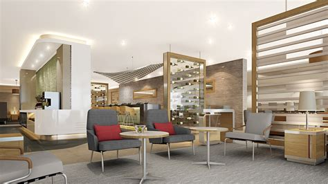 modern lounges united debuts its first polaris lounge at o hare great for business class customers not so