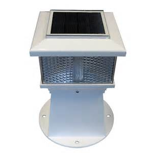 solar powered dock lights yachtsofstuff dock edge solar dock lighting