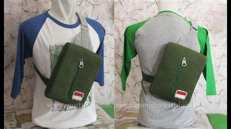 tas ransel kait stitch crochet tas ransel cowok sling backpack for