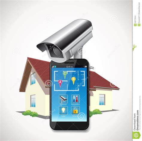 home automation stock vector image 45777914