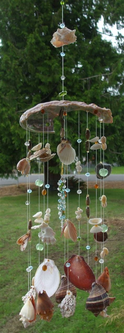 Handmade Wind Chimes - 105 best images about sea shells sand in vases on
