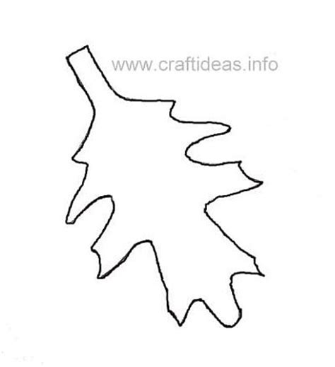 leaf pattern craft 8 best images of craft patterns free autumn printable