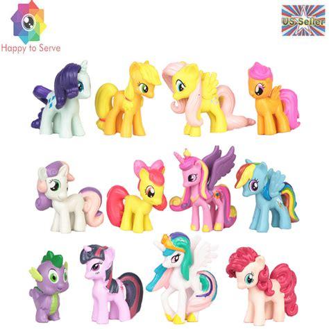 Pony 1 Pcs by 12 Pcs My Pony Figures Rainbow Dash