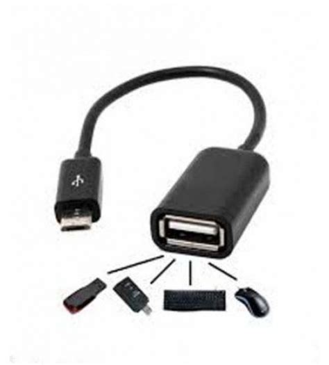 Mouse Otg micro usb otg cable to attach pendrive mouse card reader cable android phones buy micro usb