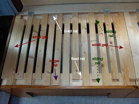 Craigslist Storage Bench Deep Red A Self Build Motorhome Beds Amp Seats