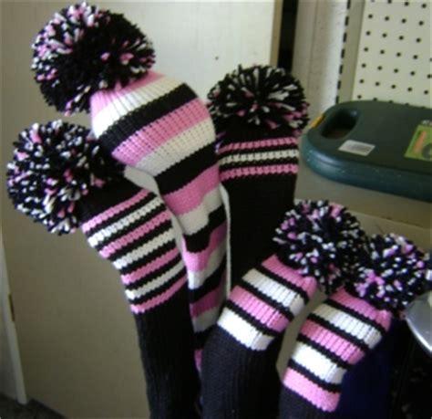 knitting pattern golf club covers free knit knitting pattern for golf club covers