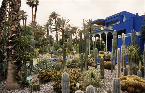 garten yves laurent marrakech majorelle blue tour yves laurent s moroccan