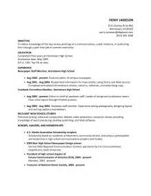 internship cover letter exles with no experience resume template high school graduate no work experience