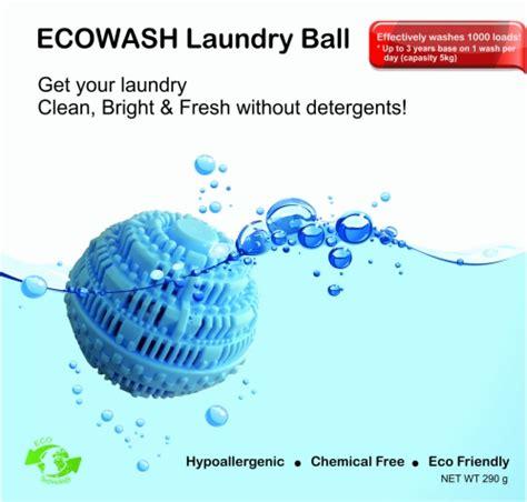 Ecowash Laundry Bola Cuci Pengganti Detergent Ecowash Laundry Bola Pencuci Tanpa Detergent