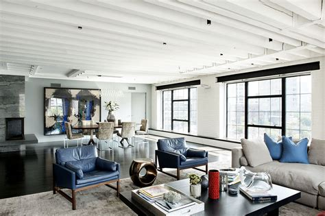 bold colors tastefully displayed by laight loft in new york modern movements to
