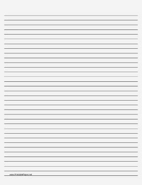 free printable small lined paper printable lined paper pale gray medium black lines