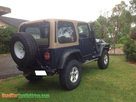 Jeep For Sale In South Africa 1997 Jeep Wrangler Tj Sport Used Car For Sale In