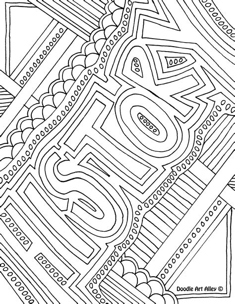 coloring pages for school subjects school subject coloring page history notebook cover page