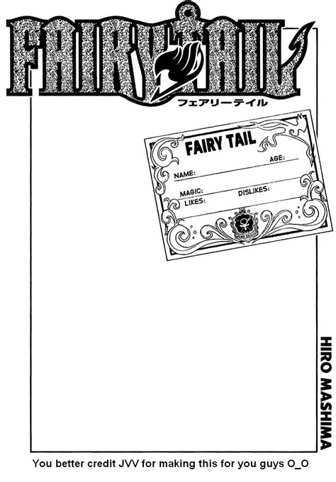 fairy tail guild card by jvv on deviantart