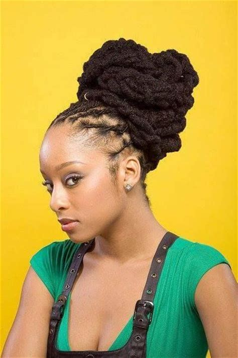 photos of dreadlock flip hairstyles 138 best images about women s natural hairstyles 2 on