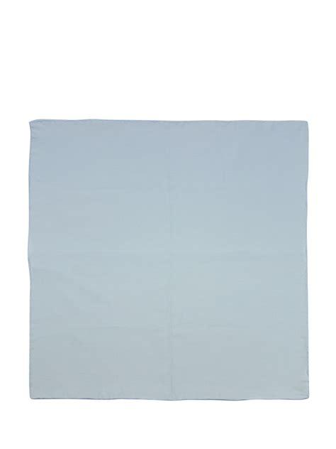 light blue pocket square light blue poplin pocket square