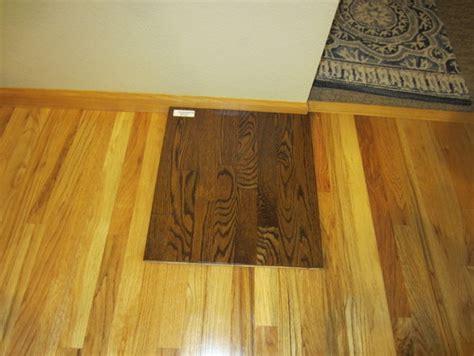 restaining wood trim dark hardwood floors with light oak trim thefloors co