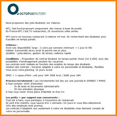 Lettre De Motivation Emploi étudiant Vendeuse 9 lettre de motivation etudiant 28 images 9 lettre de