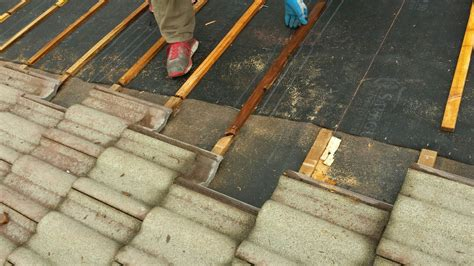 Tile Roof Repair Clay Concrete Tile Roof Repair In The Pacific Northwest