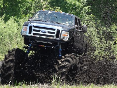 Monster Truck Ford F 550 Mud Bogging At Sters Mud Bog
