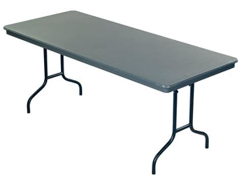36 X 96 Plastic Folding Table by Amtab Dynalite Abs Plastic Folding Table 36 Quot X 96
