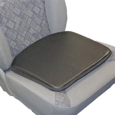 leather look wedge car seat cushion from driveden uk